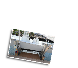 Typical TEC II Boat Lift Remote Control Installation