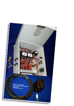 TEC IV A/C - Four Motor Auto Control Unit Plus Rotary Limit Switch Assmebly