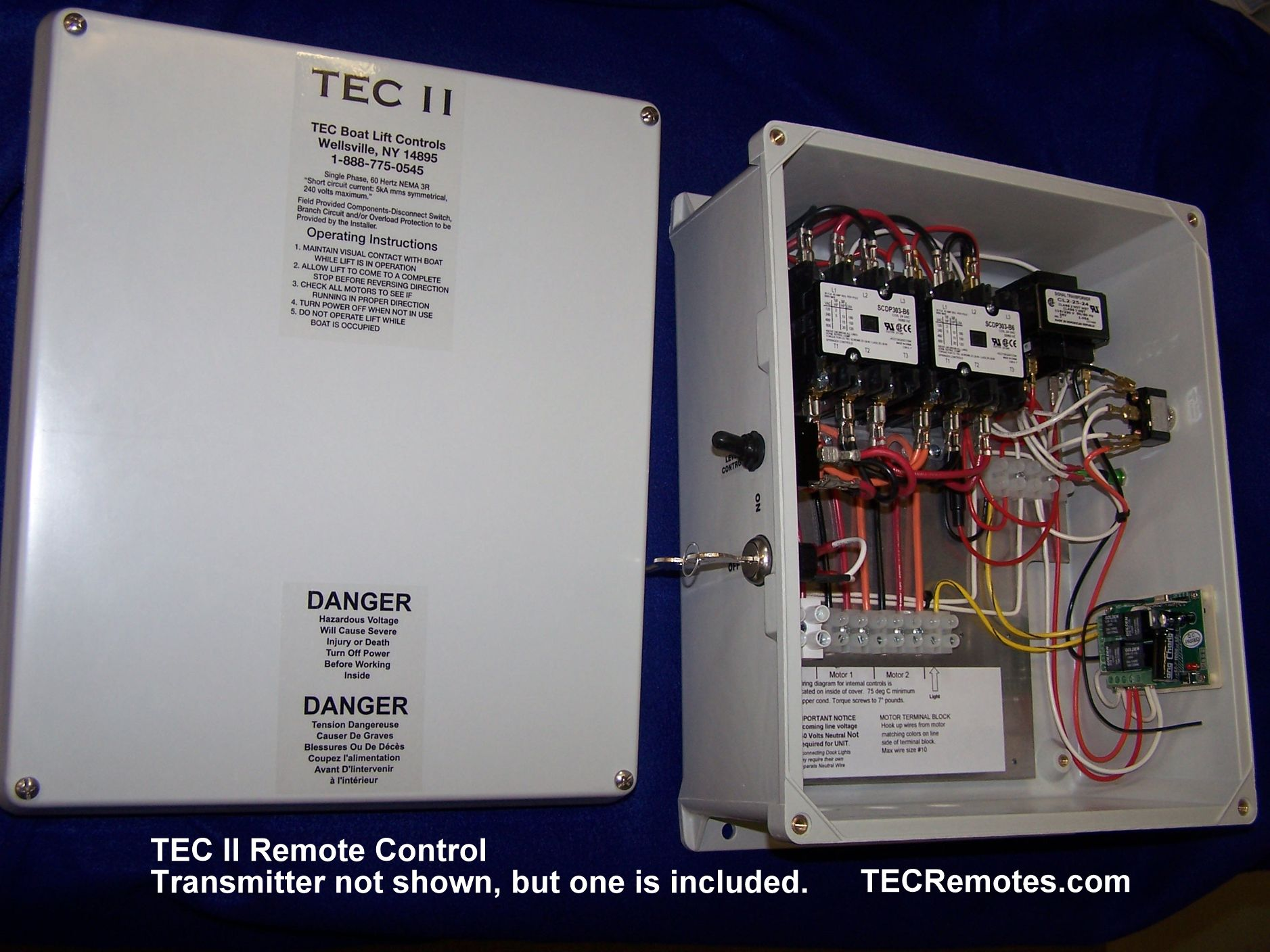 106_3311 boat lft remote controls, tec i, tec ii, tec 1 2, and tec iv ace boat lift wiring diagram at couponss.co
