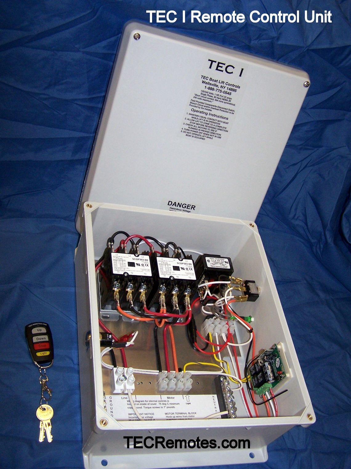 TEC_I boat lft remote controls, tec i, tec ii, tec 1 2, and tec iv ace boat lift wiring diagram at couponss.co